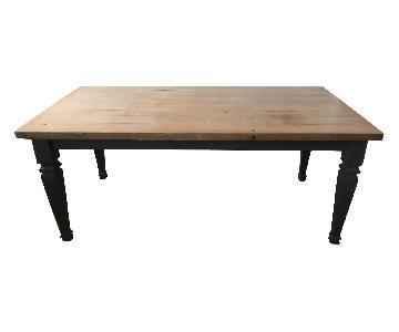 Rumrunner Wood Dining Table
