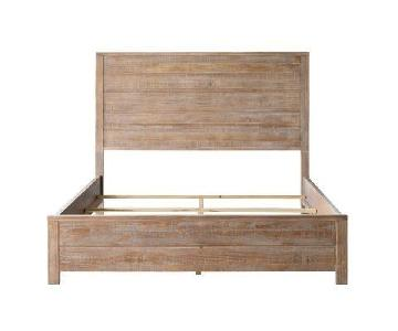 Montauk Solid Wood Full Size Bed Frame