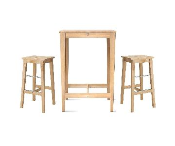 Ikea 3-Piece Bistro Set