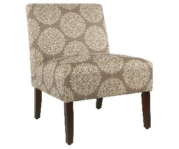 Target Carson Medallion Armless Accent Chair