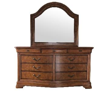Solid Wood Dresser w/ Mirror