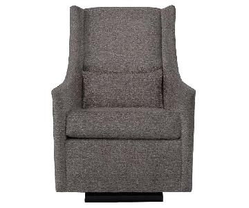 West Elm Graham Glider/Rocking Chair & Ottoman