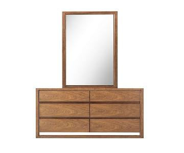 Raymour & Flanigan Aversa Bedroom Dresser w/ Mirror