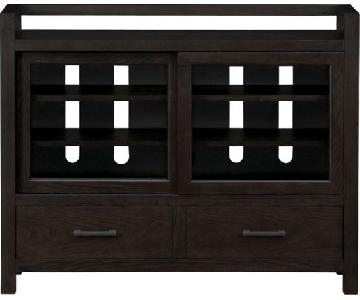 Crate & Barrel Moore Mission Media Console
