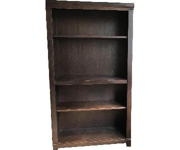 Brown Bookshelves