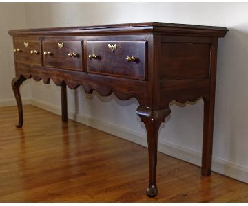 Hinkle-Harris Mahogany Wood Sideboard