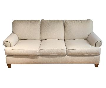Henredon Cream Fabric Sofa