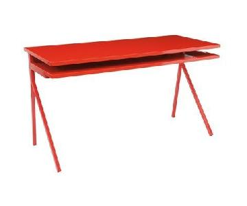 Blu Dot Desk 51 in Red