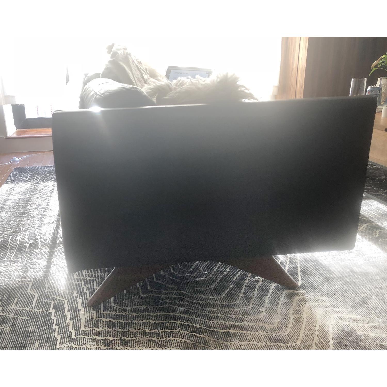 West Elm Brooklyn Sofa in Black Licorice Leather-6