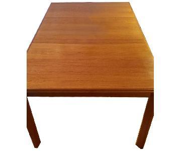 Brdr. Furbo Mid Century Modern Teak Extension Dining Table