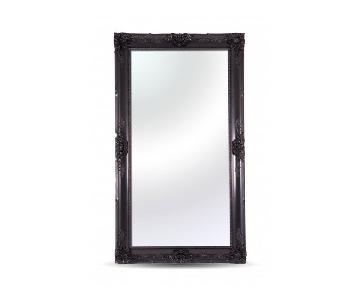 Modani Caravaggio Oversized Black Lacquer Mirror
