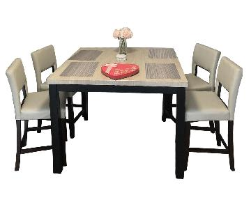 Mckinnie Dining Table w/ 4 Chairs