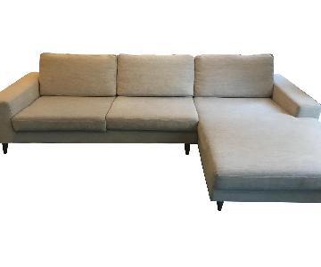BoConcept 2-Piece Mid Century Modern Sectional Sofa