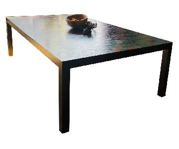Vintage Hand Painted Expandable Dining Table