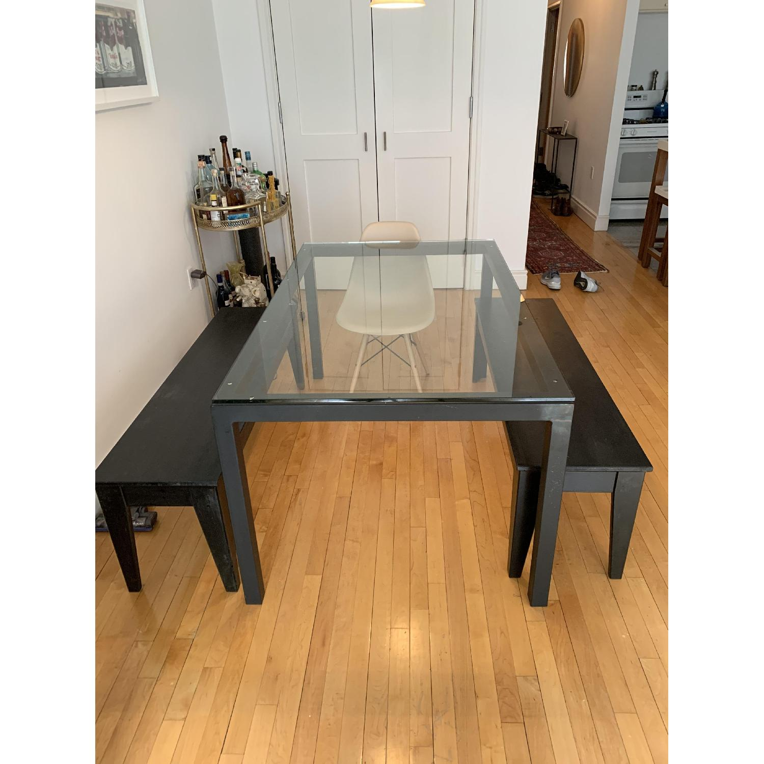 Ikea Solid Wood Dining Benches Aptdeco