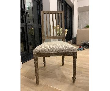 Restoration Hardware Spindle Back Dining Chairs