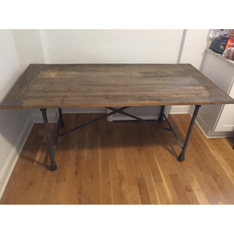 Restoration Hardware Flatiron Dining Table-0