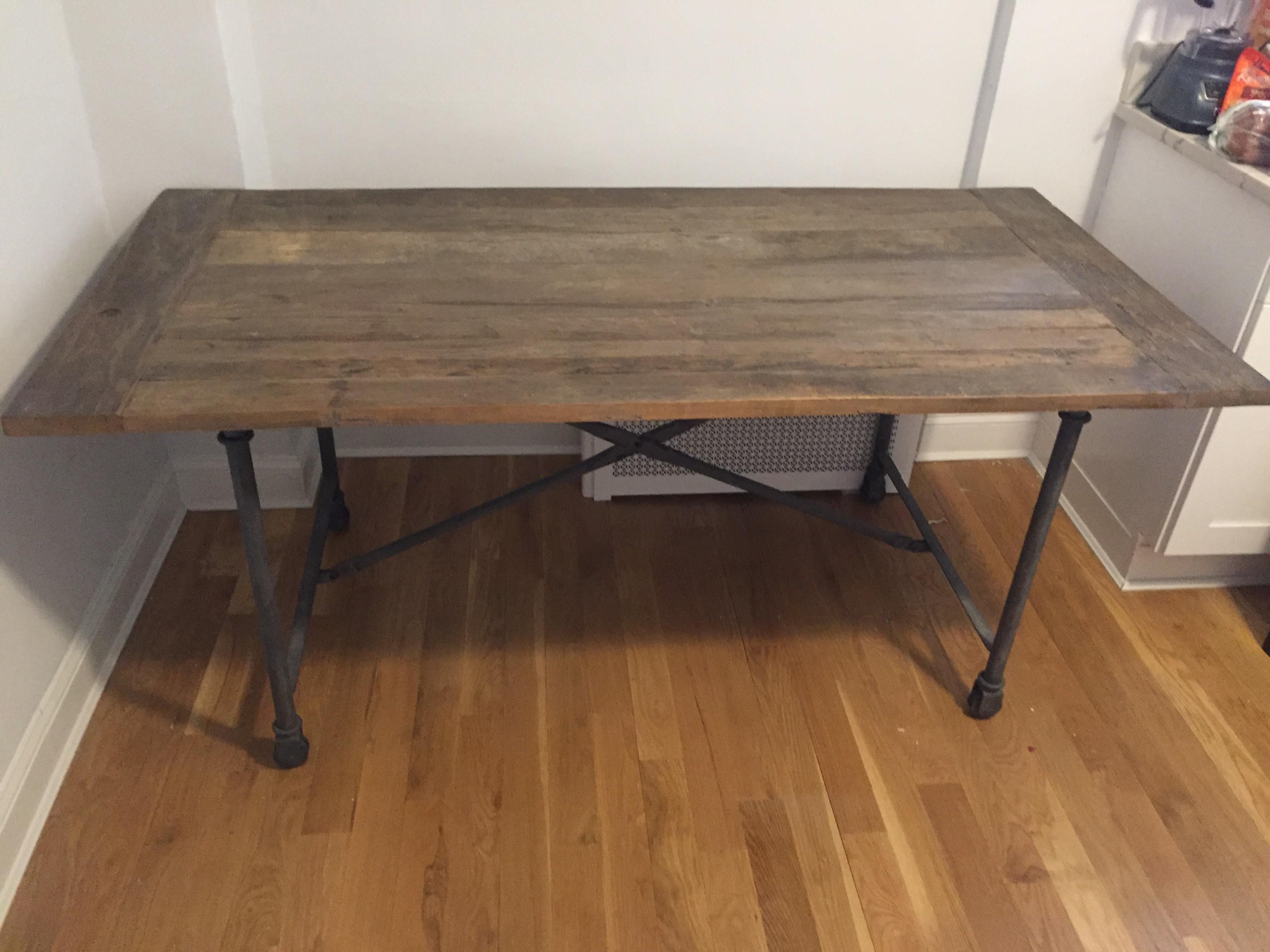 Restoration Hardware Flatiron Dining Table