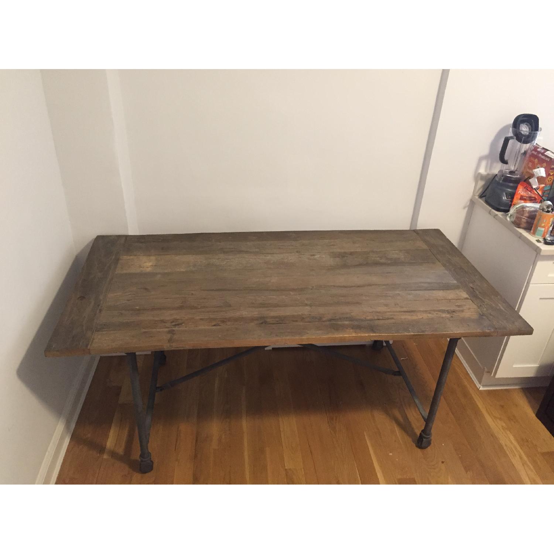 Restoration Hardware Flatiron Dining Table-2