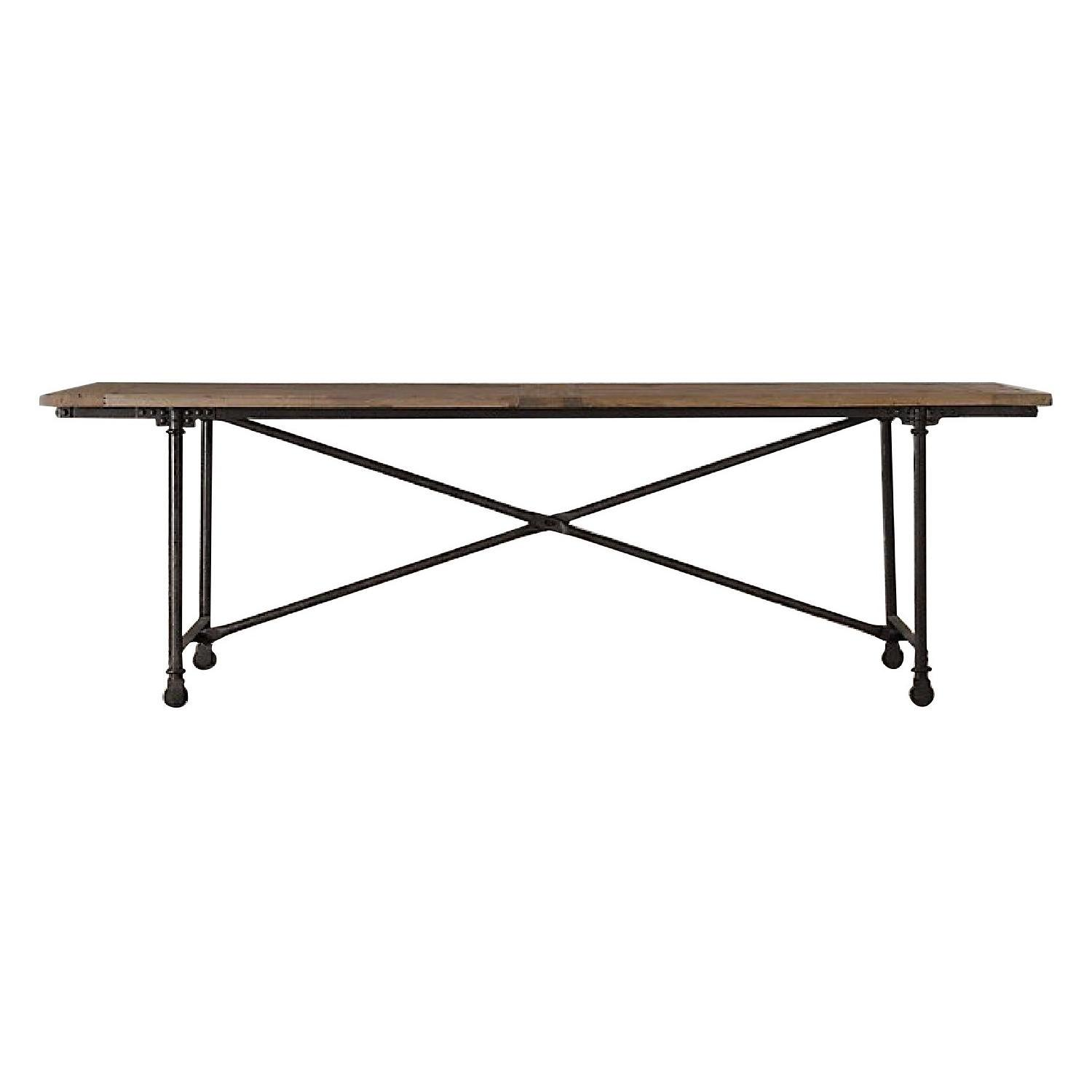 Restoration Hardware Flatiron Dining Table
