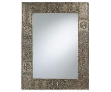 World Market Patchwork Mirror