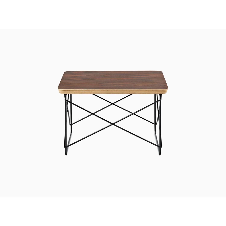 Herman Miller Eames Walnut Wire Base Low Table