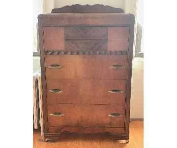 Victorian Dresser w/ Detailed Woodwork