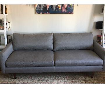 Room & Board Jasper Sofa in Dawson Cement/Gray