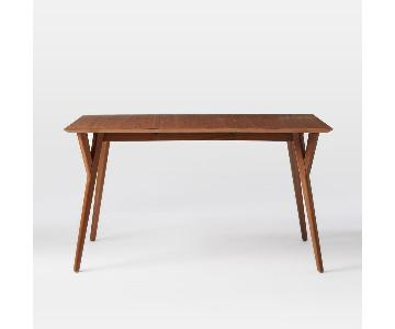 West Elm Mid Century Expandable Dining Table
