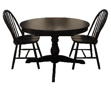 Ikea Ingatorp Round Table w/ 2 Chairs