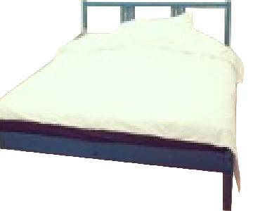 Ikea Pine Wood Full Bed Frame