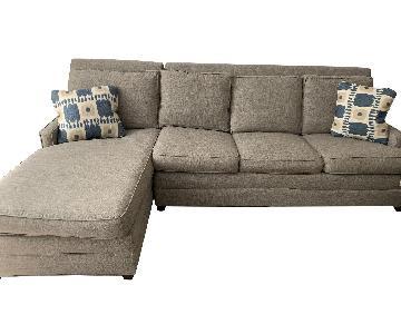 Vanguard Furniture Sleeper Sectional Sofa