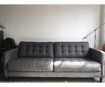 A&G Merch Sunset Park Mid-Century Modern Style Sofa