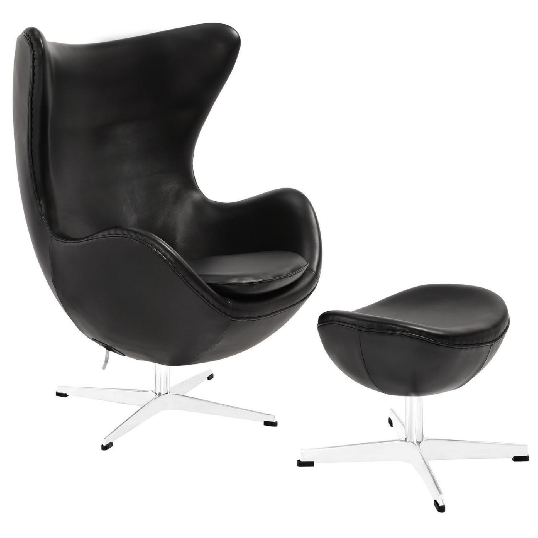 Manhattan Home Design Glove Leather Lounge Chair Aptdeco