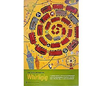 Whirligig NYC MTA Subway Poster