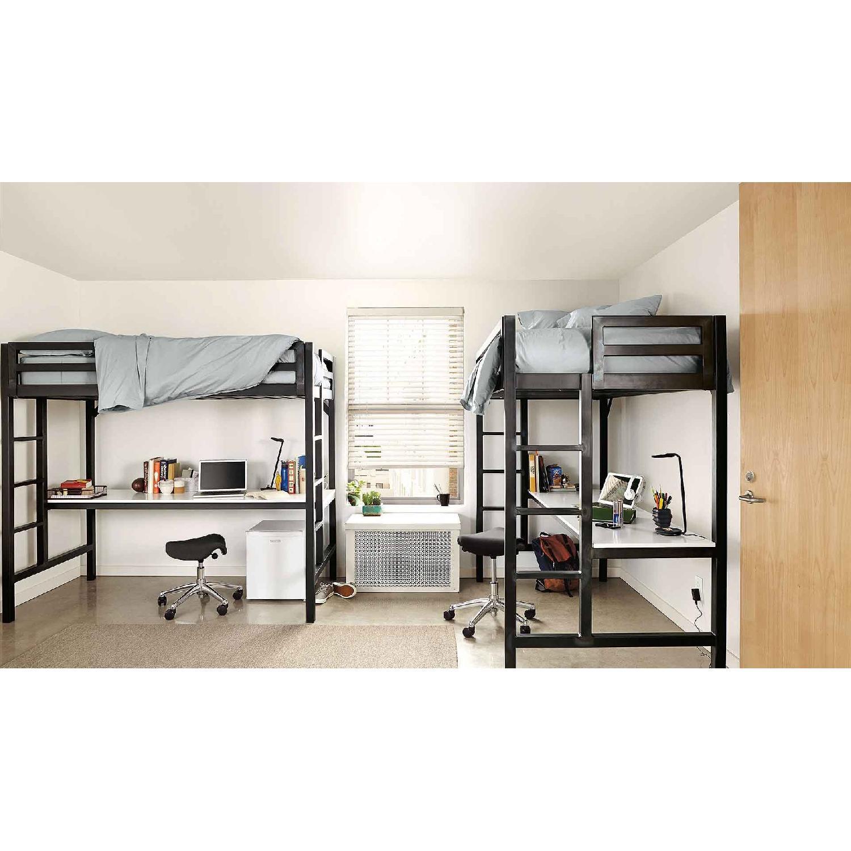 Room & Board Lark Loft Bed w/ Desk-0