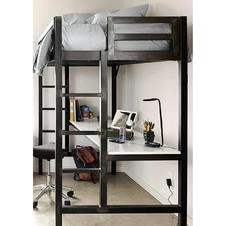 Room & Board Lark Loft Bed w/ Desk-2