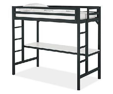 Room & Board Lark Loft Bed w/ Desk