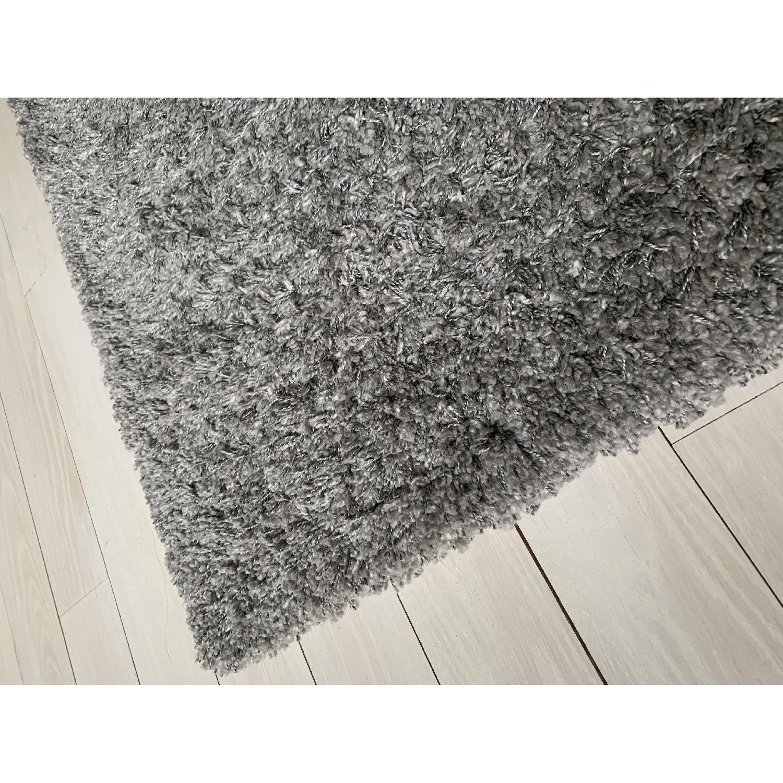 ABC Carpet and Home Gray Shag Rug