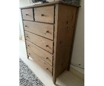 Gothic Cabinet Craft 6 Drawer Wood Dresser