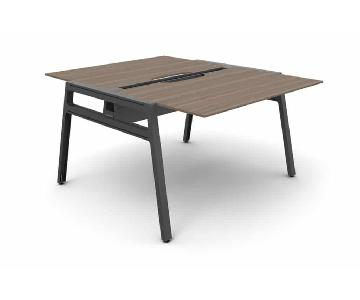 Steelcase Bivi Table For Two Desk System
