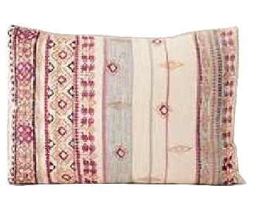 Urban Outfitters Agda Printed Yarn Pillow