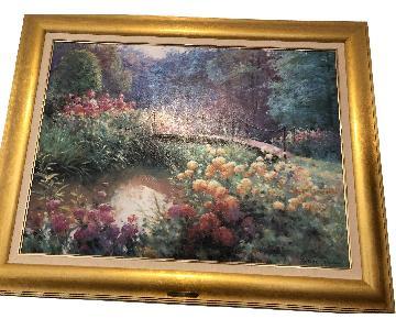 Charles Zahn Framed Painting