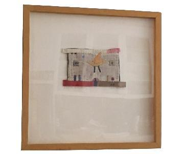 Janet Bolton Textile Collage Art