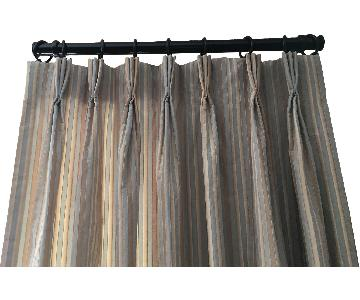 Calico Corners Pinch Pleat Lined Drapes