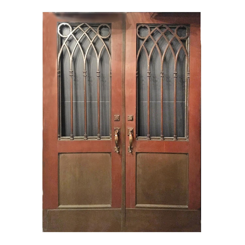 Gothic Style Bronze Doors - image-0