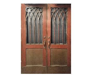 Gothic Style Bronze Doors