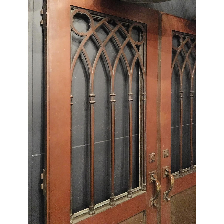 Gothic Style Bronze Doors - image-2