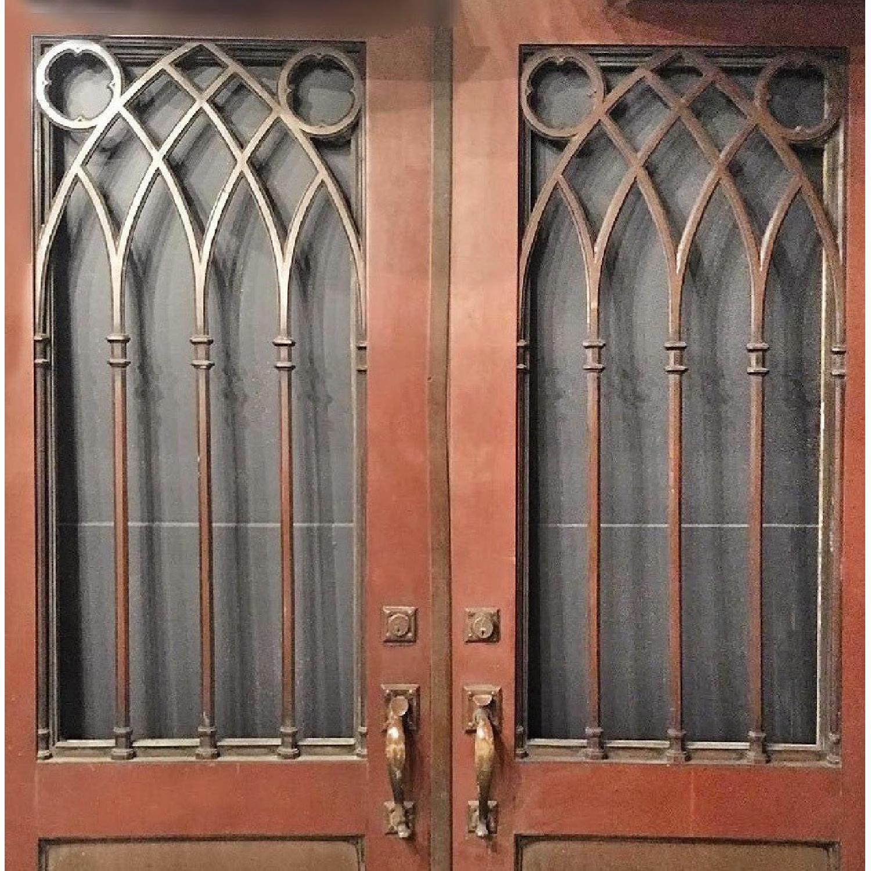 Gothic Style Bronze Doors - image-4