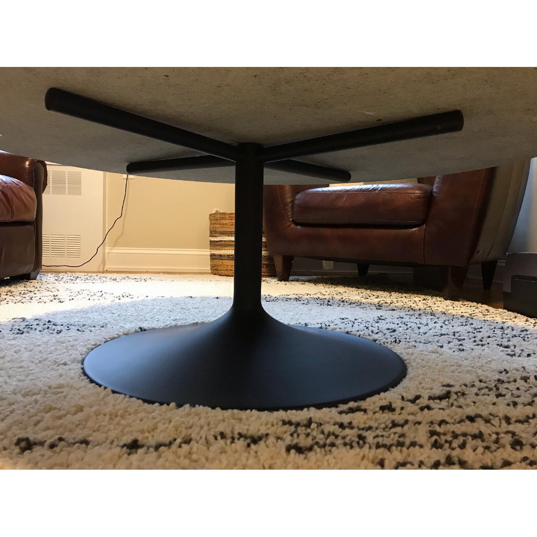 Genial ... Room U0026 Board Black Granite Coffee Table 3